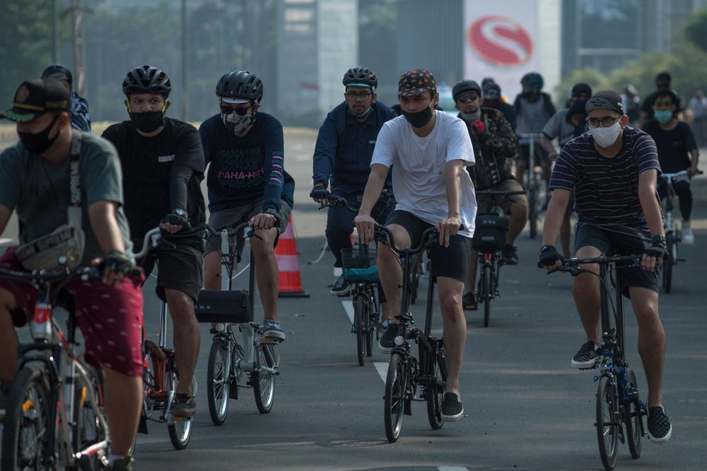 Bicicletas ganharam as ruas do mundo inteiro durante a pandemia. (Fonte: Shutterstock)