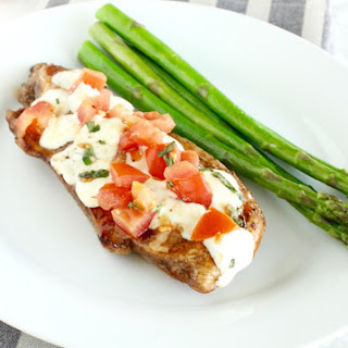 Easy Bruschetta Chicken.