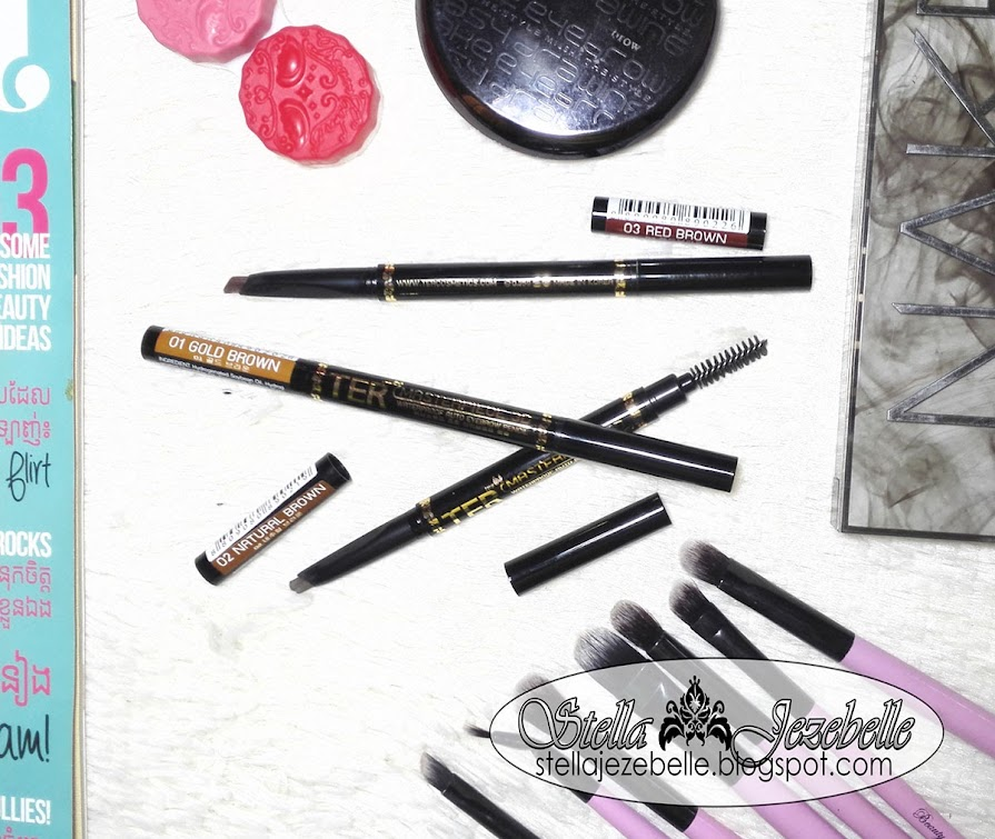 tercomsetics, anastasia beverly hills, perfect eyebrow, waterproof eyebrow pens, eyebrow tattoo, thailand makeup, thai makeup, beauty blogger,