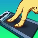 Finger Running Icon