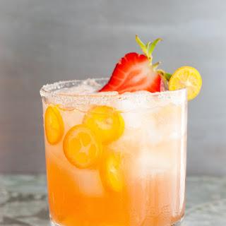Kumquat-Strawberry Margaritas.