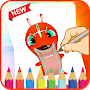 Learn To Draw Slugterra APK icon