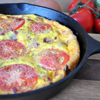 Chicken Bacon Ranch Frittata