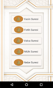 Download Yasin Mülk Fetih Vakıa Nebe Sesli İnternetsiz For PC Windows and Mac apk screenshot 9