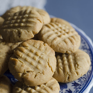 Naturally Sweet Peanut Butter Cookies