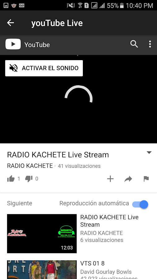 Radio Kachete- screenshot