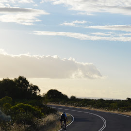 Distance between Dreams  by Daniel Nash - Sports & Fitness Cycling