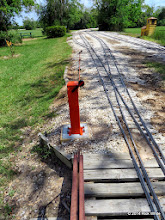 Photo: Fresh concrete base to the raised remote switch throw.    HALS Public Run Day 2014-0419 RPW  11:46 AM