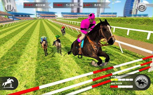 Horse Racing Games 2020: Derby Riding Race 3d apkpoly screenshots 7
