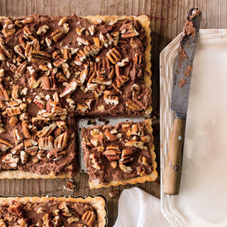 Chocolate-Pecan Mousse Tart