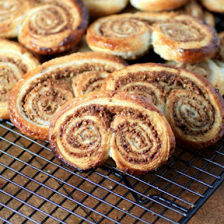 Cinnamon Pecan Elephant Ears #CreativeCookieExchange