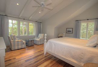 Photo: 2nd floor guest king bedroom with sitting area andfull bath.