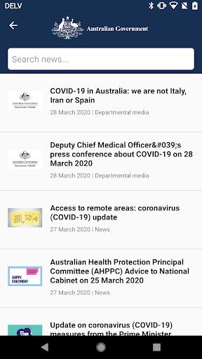 Coronavirus Australia 1.0.1 screenshots 2