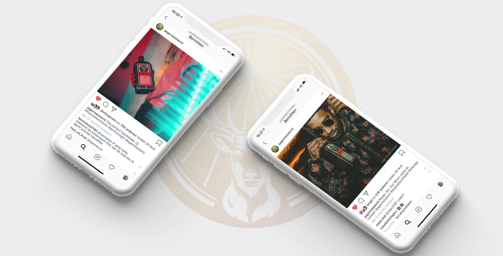 Von Dorst & Lesser entwickelte Social-Media-Inhalte für Jägermeister