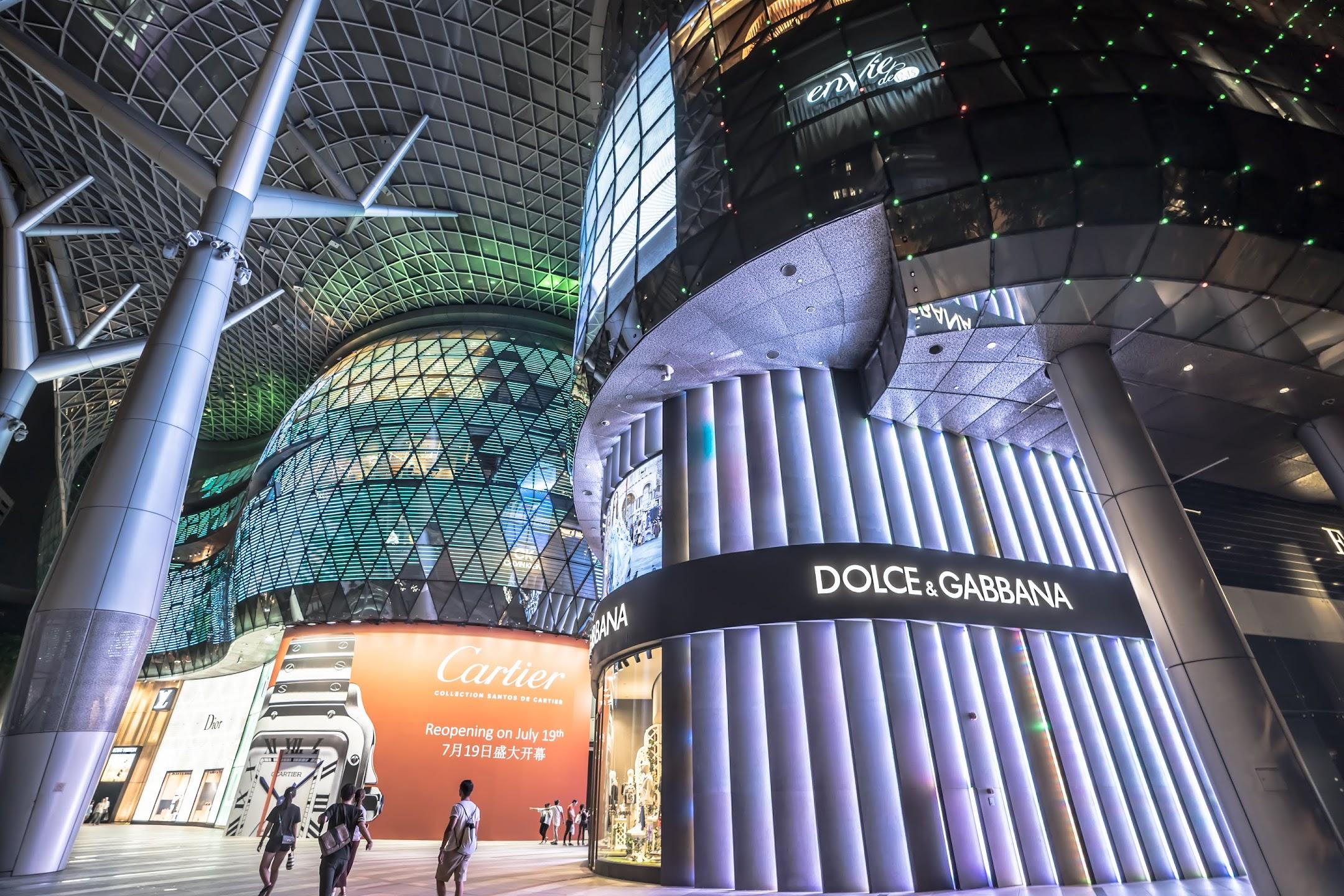 シンガポール ION Orchard4