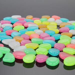 Pietricele fosforescente 400 grame / 1000 grame