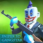 Gangster Sniper 3d : free shoot game Icon