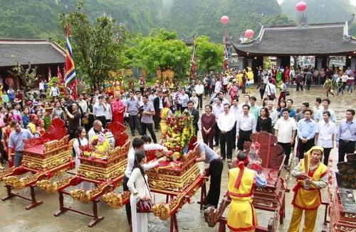 Khu du lịch Tràng An khai mạc lễ hội 2016 - 3