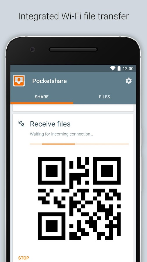 Pocketshare: File Transfer NAS- screenshot