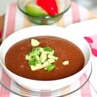 Mexican Black Bean Soup.
