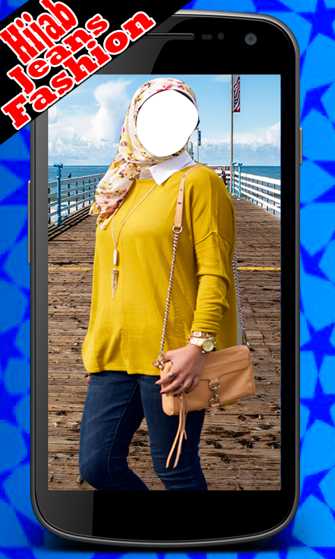 Hijab Jeans Girl Fashion Suit- screenshot