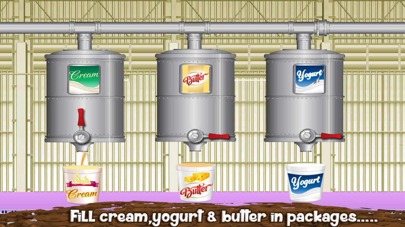 Milk Factory Farm Cooking Game- screenshot
