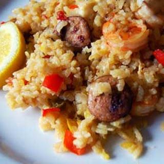 Baked Seafood Paella