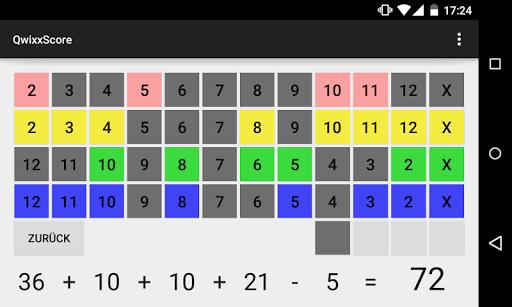 QwixxScore screenshot 2
