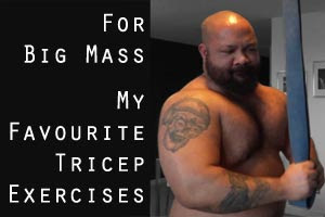 Tricep Exercises for Big Mass
