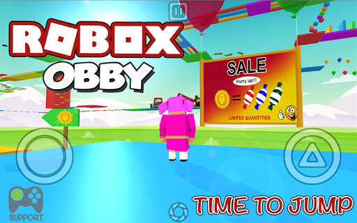 ROBOX OBBY Time To Jump image | 2