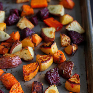 Roasted Root Vegetables Recipe with Rosemary