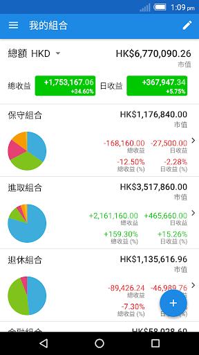 Ticker - 香港股票 投資組合 管理