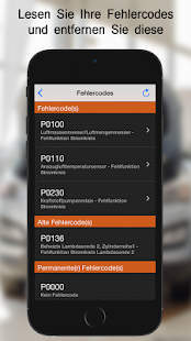 EOBD Facile - OBD2 Fahrzeugdiagnose ELM327 Screenshot