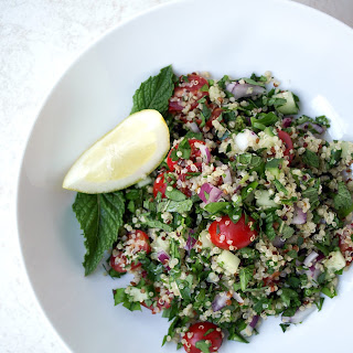 Quinoa + Hemp Heart Tabbouleh Recipe