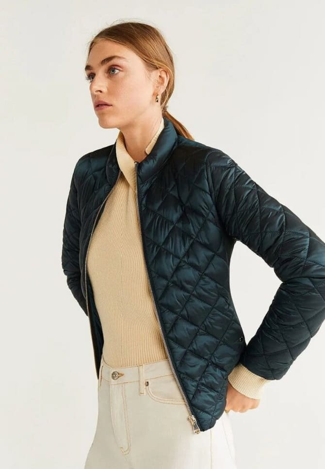 Fashionable quilted jackets 1