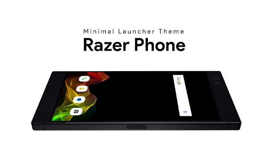 Launcher Theme For Razer Phone - náhled