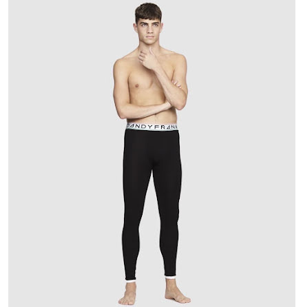 Frank Dandy St paul bamboo long johns black