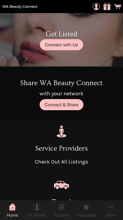 WA Beauty Connect- screenshot