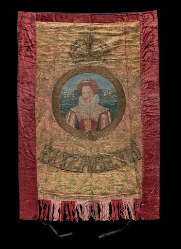 Queen Elizabeth I suffrage banner