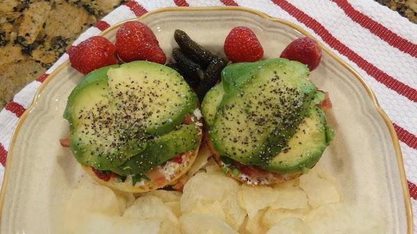 SERVING SUGGESTION:  Serve with pickles and Salt and Vinegar Potato Chips.  Enjoy!