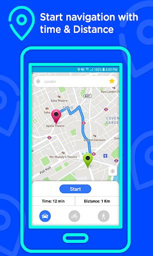 Voice GPS Driving Directions u2013Lite, GPS Navigation 3.0.4 screenshots 5