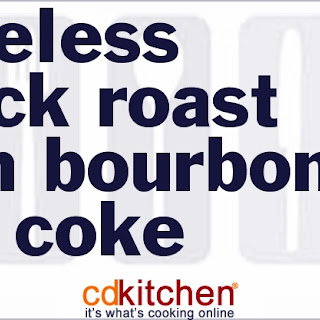Boneless Chuck Roast With Bourbon And Coke