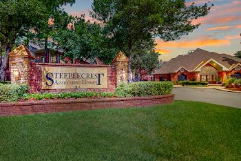 Go to Steeplecrest Apartments website