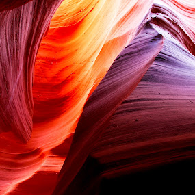 Antelope Crystal by Surentharan Murthi - Landscapes Travel ( nature, color, antelope, arizona, canyon, wall )