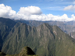 Photo: View from Mt. Machu Picchu