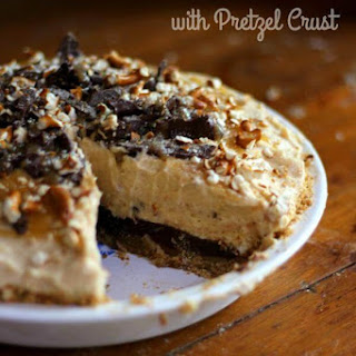 Peanut Butter Pie with Pretzel Crust Recipe