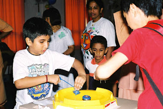Photo: Beyblade was a craze at that time!
