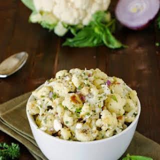 Roasted Cauliflower Salad.