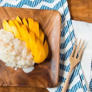 Thai Sticky Rice with Mango.