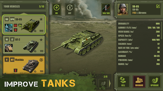 Iron 5: Tanks screenshot